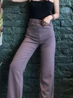 High Waisted Flare Pants