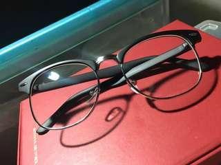 Plain Black Glasses