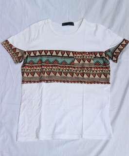 Messy Shirt bahan sangat lembut dan pattern bahan soft suede