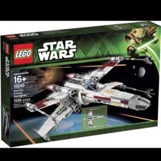 LEGO Star Wars UCS 10240 Red Five XWing Starfighter (MISB)
