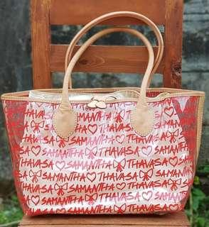 Authentic Samantha Thavasa Scribble Clear Tote
