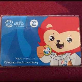 SEA Games EZLink Card