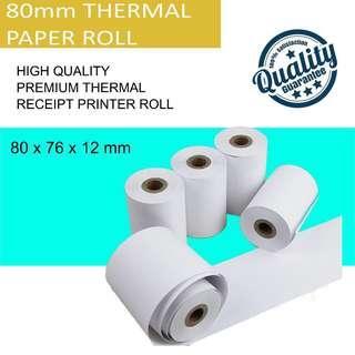 🚚 Paper Roll 80mm Thermal Receipt Printer