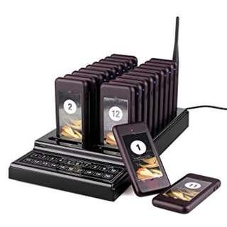 🚚 Brand New 20 in 1 Customers Paging System, Coaster Pager