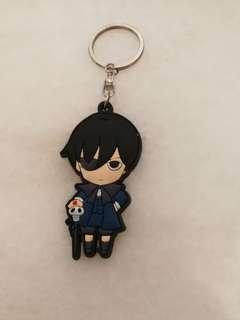 Kuroshitsuji/Black Butler Ciel Phantomhive Rubber Keychain