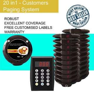 🚚 Brand New 20 in 1 Customers' Paging System