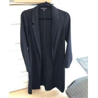 Dynamite Black Duster Coat