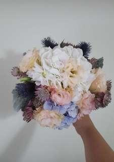🚚 Unique Pastel Colored Bouquet