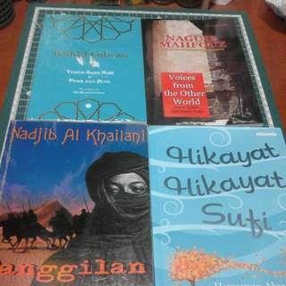 Paket buku sastra timur