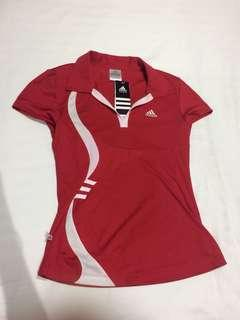 Adidas Red Climacool top