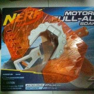 USED Nerf Orange Translucent Shield fr Super Soaker Blaster Gun Hasbro TRU