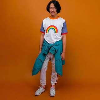 Rainbow T-Shirt Collage Kit