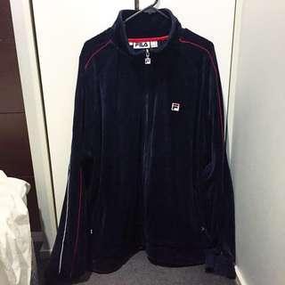 Fila Vintage Velvet Jacket