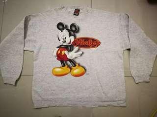 Vtg Mickey Mouse unlimited Sweater Sweatshirt Shirt