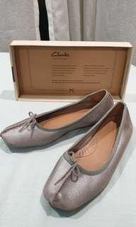 Clarks Leather Ballerina Style