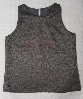 ☆ Best Buy at $5.00 Only ☆ Brand New Classy Black Blouse ☆ Free Size ☆
