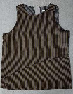 ☆ Best Buy at $5.00 Only ☆ Brand New Striped Blouse ☆ Size M ☆