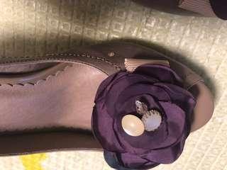 🚚 藕紫色高跟鞋