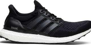 🚚 Adidas Ultra Boost 1.0 Core Black