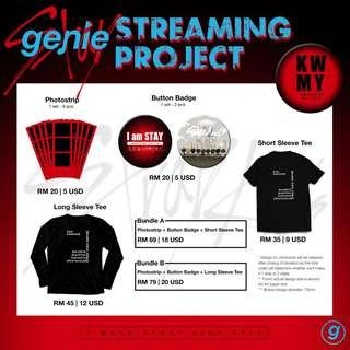 [Fankit] Stray Kids Genie Streaming Project