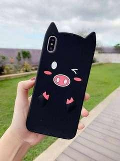 🎀 WINK EYE PIG 3D silicon case.