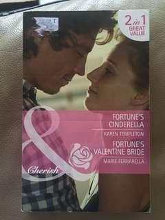 NOVEL.    ..FORTUNE'S CINDERELLA& FORTUNE'S VALENTINE'S BRIDE
