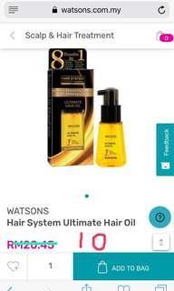 Hair System Ultimate Hair Oil