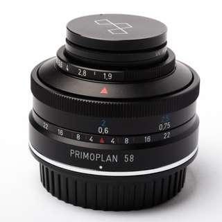(Made in Germany) Meyer-Optik Primoplan 58mm f1.9. (100%NEW)