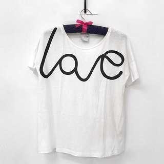 "ASOS ""love"" tee"