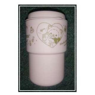 環保矮身咖啡杯 1600Yen特價八算! Rilakkuma(鬆馳熊、鬆弛熊、輕鬆小熊、懶懶熊、リラックマ)