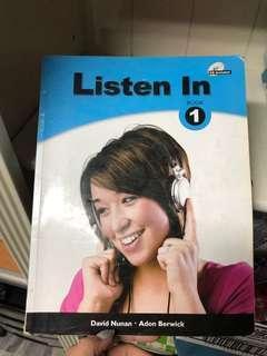 🚚 中科大用書-listen in