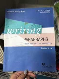 🚚 中科大用書-writing paragraphs