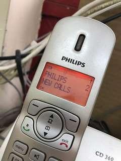 飛利蒲室內無線電話