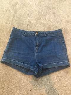 Jay Jays denim high rise shorts