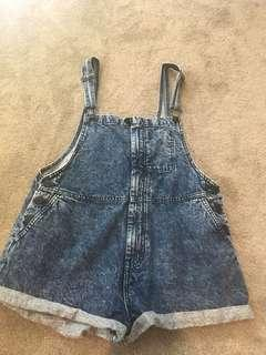 Factorie denim dungarees