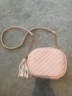Pale pink collette bag