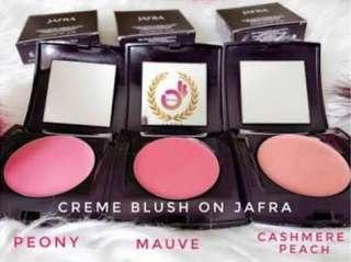 Cream blus on jafra bisa di pakai untuk blush on lipstik dan eye shadow