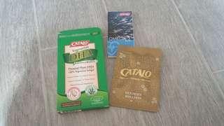 ((買10送1)) CATALO 植物藻油DHA活腦補眼配方sample