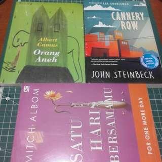 Paket buku sastra barat