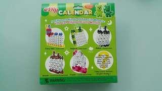 自製積木萬年曆DIY Lego Calendar