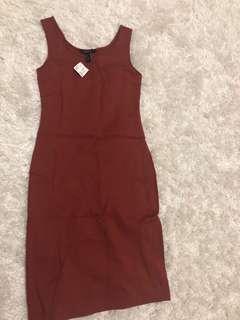 Forever 21 dress knee length size small