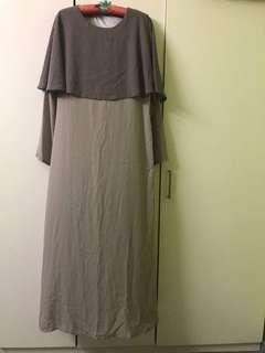 Jubah Cape Dress