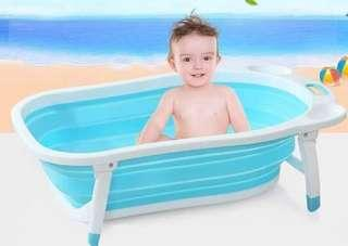 Baby folding tub