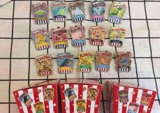 清pins 迪士尼 Hkdisneyland 最後一套 爆曲款 罐pin 襟章 徽章 pins 全套
