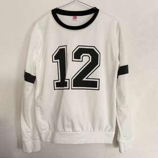 Numbered Sweatshirt