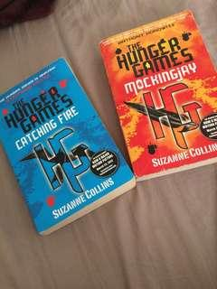 HUNGER GAMES BOOK 1&2