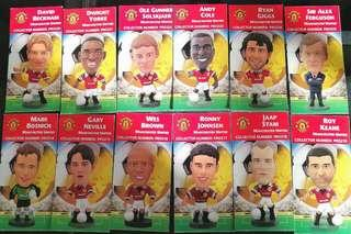 Manchester Utd. Corinthian Collectors cards