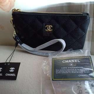 Chanel wristlet