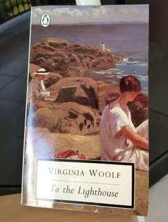 To the lighthouse paperback novel book Virginia Woolf