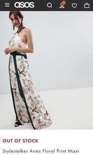 Stylestalker floral print maxi